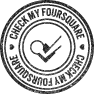 Foursquare, Stamp Icon