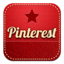 Pinterest, Retro Icon