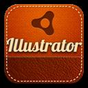 Illustrator, Retro Icon
