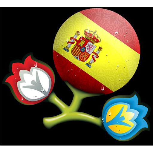 Euro, Spain Icon