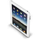 Ipad, New, White Icon