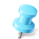 Azure, Map, Marker, Pin, Push, Right Icon