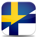 And, Finland, Language, Sweden Icon
