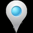 Azure, Inside, Map, Marker Icon