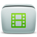 Folder, Mac, Video Icon
