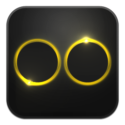 Flickr, Glow, Neon Icon