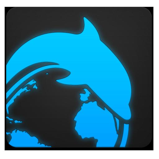 Dolphin, Ice Icon