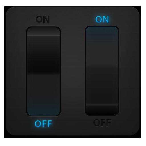 Ice, Light, Switch Icon