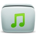 Folder, Mac, Music Icon