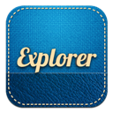 Explorer, Internet, Retro Icon