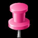Map, Marker, Pin, Pink, Push Icon