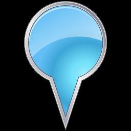 Azure, Bubble, Map, Marker Icon