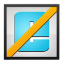Black, Frame, Ie Icon
