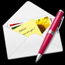 Letter, Pen Icon
