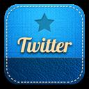 Retro, Twitter Icon