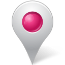 Inside, Map, Marker, Pink Icon
