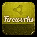 Fireworks, Retro Icon
