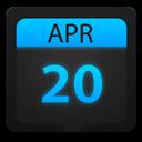 Calendar, Ice Icon