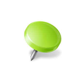Chartreuse Drawing Map Marker Pin Right Icon Download Free Icons