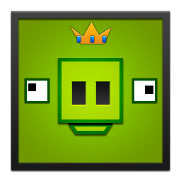 Black, Frame, King, Pig Icon