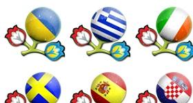 Euro 2012 Teams Icons