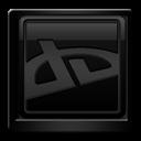 Black, Deviantart Icon