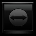 Black, Teamviewer Icon