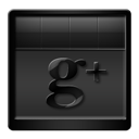 Black, Googleplus Icon
