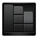 Black, Defragger Icon