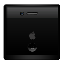 Black, Iphone Icon