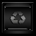 Black, Empty, Trash Icon