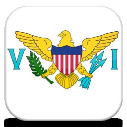 Islands, States, United, Virgin Icon