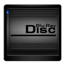 Black, Blu, Disc, Ray Icon