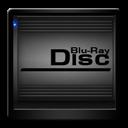 Black, Blu, Disc, Ray Icon
