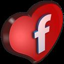 Cuore, Facebook Icon