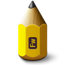 Adobe, Fireworks, Pencil Icon