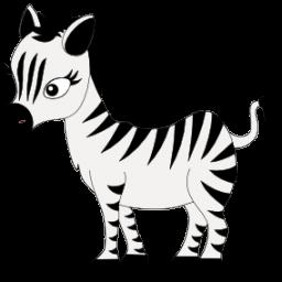 Icon, Zebra Icon