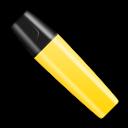Shut, Stabilo, Yellow Icon