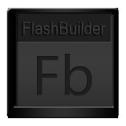 Black, Flashbuilder Icon