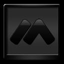 Black, Macromedia Icon