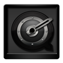 Black, Quicktime Icon