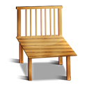 Chair, Wood Icon