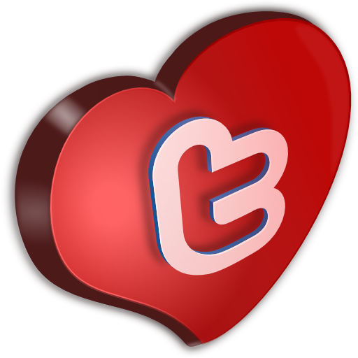 Cuore, Twitter Icon
