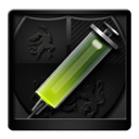 Anti, Black, Virus Icon