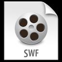 File, Swf, z Icon