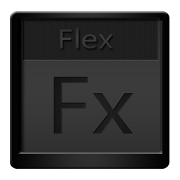 Black, Flex Icon