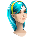 Explorer, Girl, Internet Icon