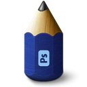 Adobe, Pencil, Photoshop Icon