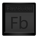 Black, Flashbuilder Icon