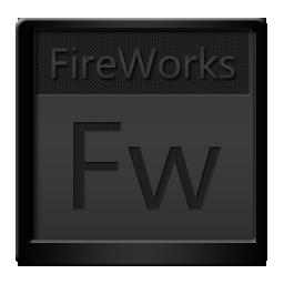 Black, Fireworks Icon